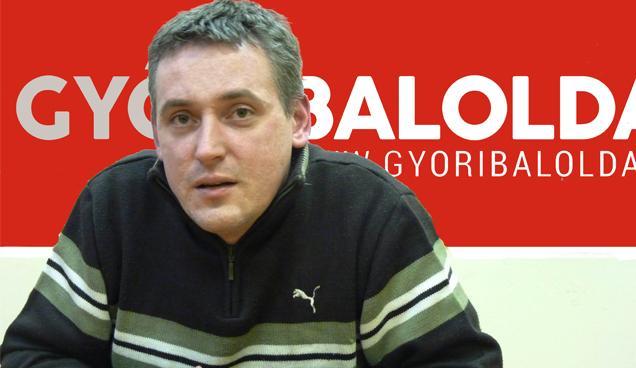 Pollreisz Balázs, a Győri Baloldal frakcióvezetője
