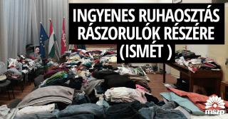 Győri MSZP ruhaosztás